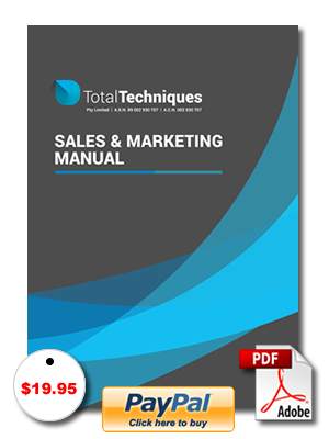 Sales and Marketing Manual